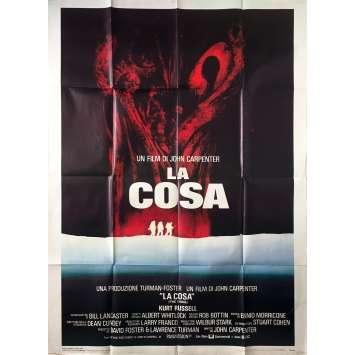 THE THING Original Movie Poster - 39x55 in. - 1982 - John Carpenter, Kurt Russel