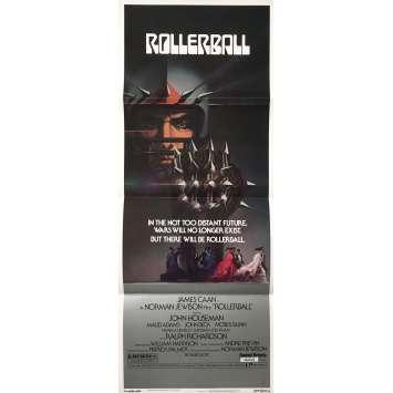 ROLLERBALL Affiche de film - 35x91 cm. - 1975 - James Caan, Norman Jewinson