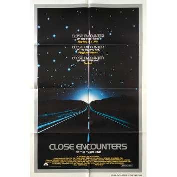 RENCONTRES DU 3E TYPE Affiche de film - 69x104 cm. - 1977 - Richard Dreyfuss, Steven Spielberg