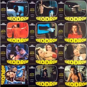 VIDEODROME Photos de film x11 - 21x30 cm. - 1983 - James Woods, David Cronenberg