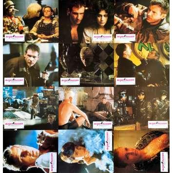 BLADE RUNNER Original Lobby Cards x12 - 9x12 in. - 1982 - Ridley Scott, Harrison Ford