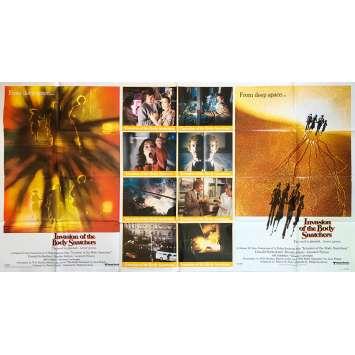 L'INVASION DES PROFANATEURS Affiche de film - 104x194 cm. - 1978 - Donald Sutherland, Philip Kaufman