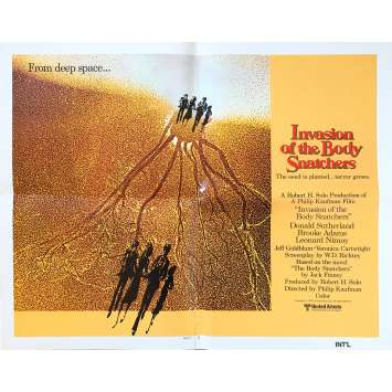 INVASION OF THE BODY SNATCHERS Original Movie Poster - 21x28 in. - 1978 - Philip Kaufman, Donald Sutherland