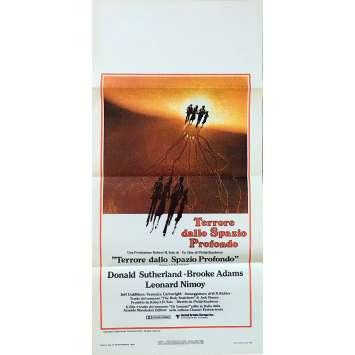 L'INVASION DES PROFANATEURS Affiche de film - 33x71 cm. - 1978 - Donald Sutherland, Philip Kaufman