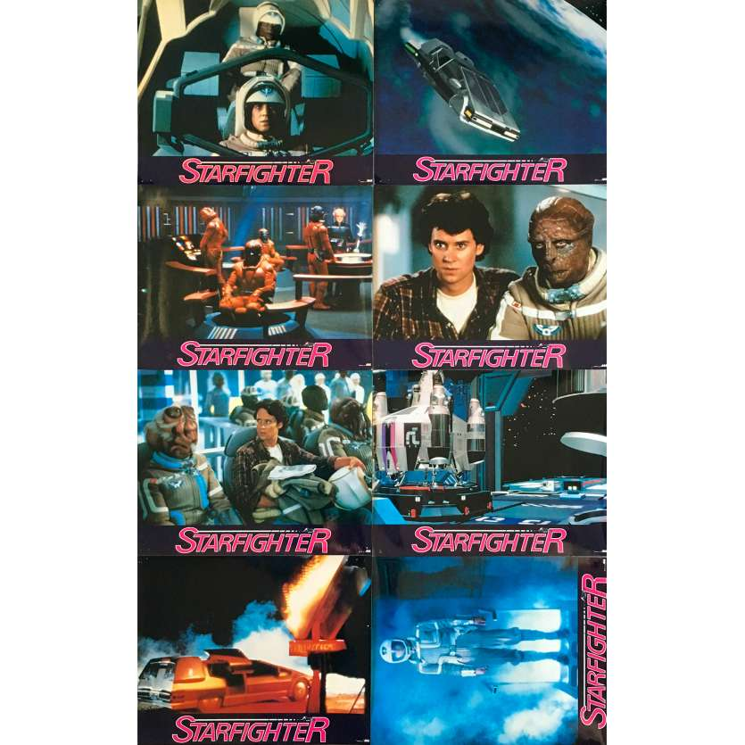 STARFIGHTER Photos de film x8 - 21x30 cm. - 1984 - Lance Guest, Nick Castle
