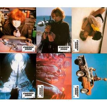 CHERRY 2000 Original Lobby Cards x6 - 9x12 in. - 1987 - Steve De Jarnatt, Melanie Griffith