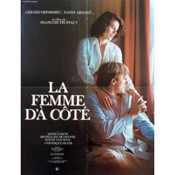THE WOMAN NEXT DOOR Movie Poster - 15x21 in. - 1981 - François Truffaut, Gérard Depardieu
