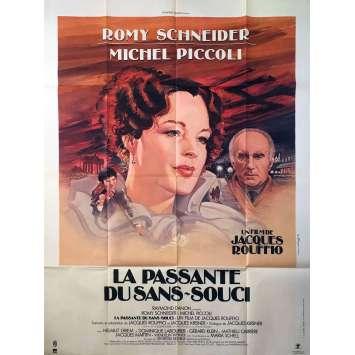 LA PASSANTE DU SANS-SOUCI Affiche de film 120x160 cm - 1982 - Romy Schneider, Jacques Rouffio