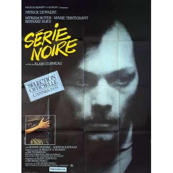 SERIE NOIRE Affiche de film 120x160 cm - 1979 - Patrick Dewaere, Alain Corneau