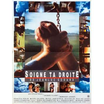 KEEP YOUR RIGHT UP Original Movie Poster - 15x21 in. - 1987 - Jean-Luc Godard, Jane Birkin