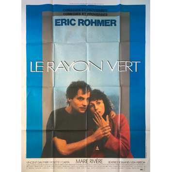 SUMMER Original Movie Poster - 47x63 in. - 1986 - Éric Rohmer, Marie Rivière