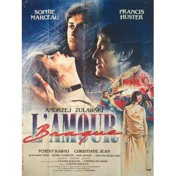 L'AMOUR BRAQUE Affiche de film - 120x160 cm. - 1985 - Sophie Marceau, Andrzej Zulawski
