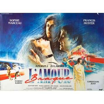 L'AMOUR BRAQUE Affiche de film - 60x80 cm. - 1985 - Sophie Marceau, Andrzej Zulawski
