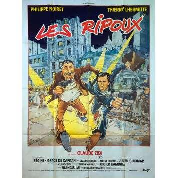 LES RIPOUX Affiche de film - 120x160 cm. - 1984 - Philippe Noiret, Claude Zidi