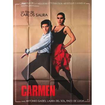 CARMEN Original Movie Poster - 47x63 in. - 1984 - Francesco Rosi, Julia Migenes