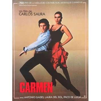 CARMEN Original Movie Poster - 15x21 in. - 1984 - Francesco Rosi, Julia Migenes