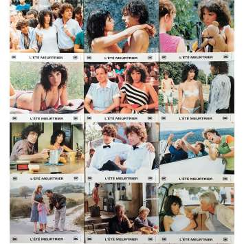 ONE DEADLY SUMMER Original Lobby Cards x13 - 10x12 in. - 1983 - Jean Becker, Isabelle Adjani