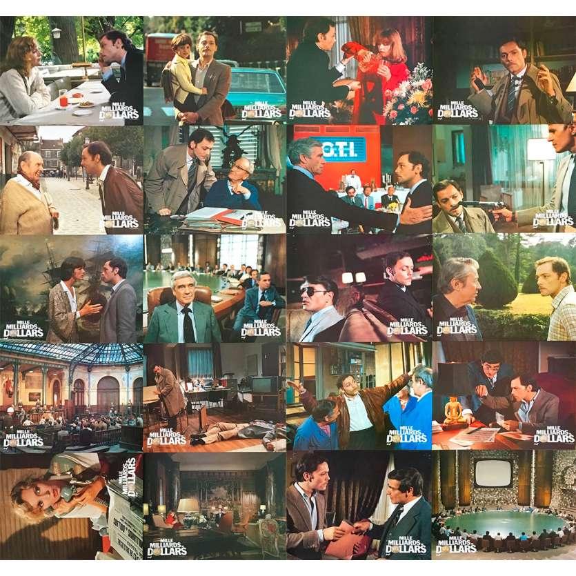 MILLE MILLIARDS DE DOLLARS Photos de film x20 - 21x30 cm. - 1982 - Patrick Dewaere, Henri Verneuil