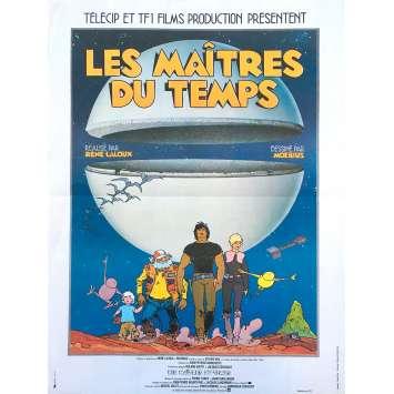 LES MAITRES DU TEMPS Affiche de film - 40x60 cm. - 1982 - Jean Valmont, René Laloux