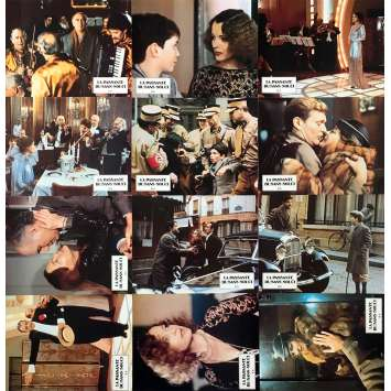THE PASSERBY Original Lobby Cards x12 - 9x12 in. - 1982 - Jacques Rouffio, Romy Schneider