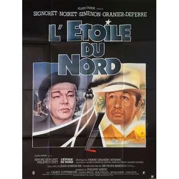 L'ETOILE DU NORD Affiche de film - 120x160 cm. - 1982 - Simone Signoret, Pierre Granier-Deferre