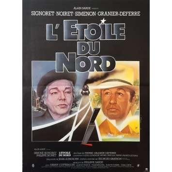 L'ETOILE DU NORD Affiche de film - 40x60 cm. - 1982 - Simone Signoret, Pierre Granier-Deferre