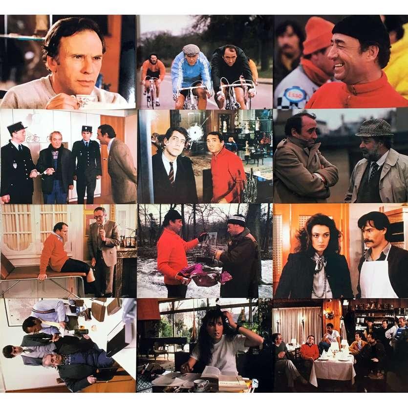 UNE AFFAIRE D'HOMMES Photos de film x12 - 21x30 cm. - 1981 - Jean-Louis Trintignant, Claude Brasseur