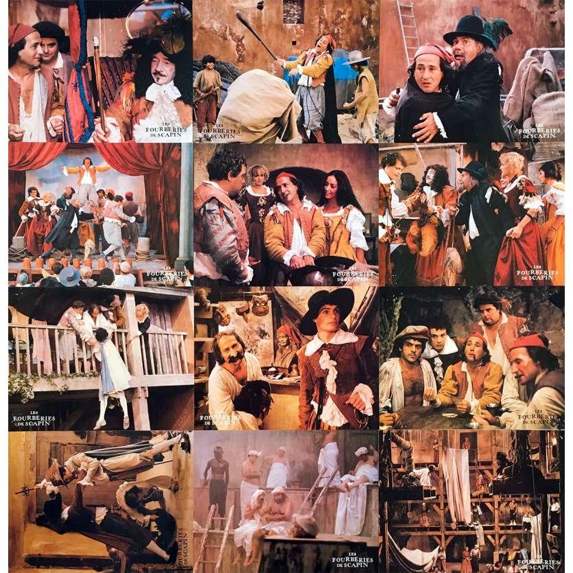 LES FOURBERIES DE SCAPIN Photos de film x12 - 21x30 cm. - 1981 - Michel Galabru, Roger Coggio