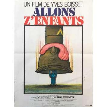 ALLONS Z'ENFANTS Affiche de film - 40x60 cm. - 1981 - Jean Carmet, Yves Boisset