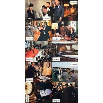 THE LADY BANKER Original Lobby Cards x10 - 9x12 in. - 1980 - Francis Girod, Romy Schneider