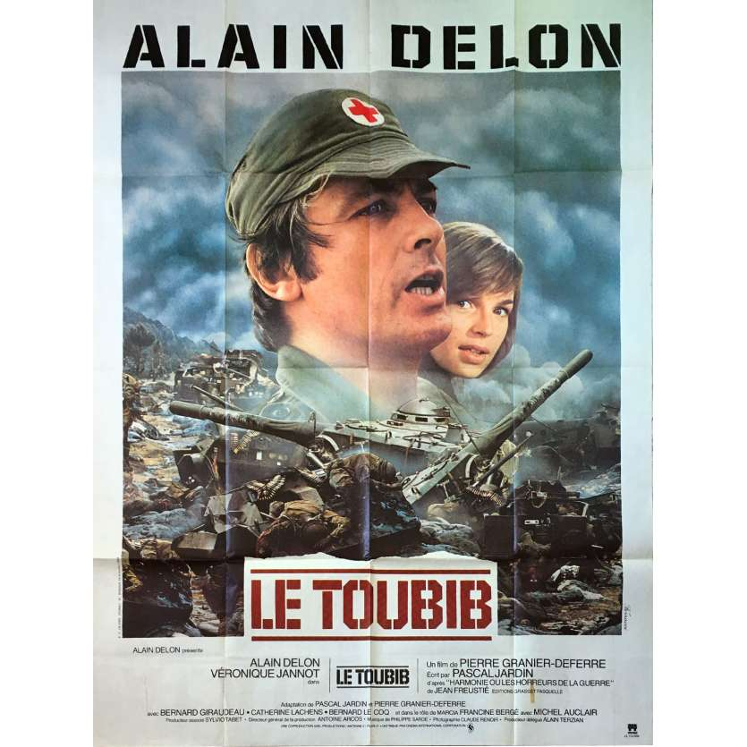 THE MEDIC Original Movie Poster - 47x63 in. - 1979 - Pierre Granier-Deferre, Alain Delon