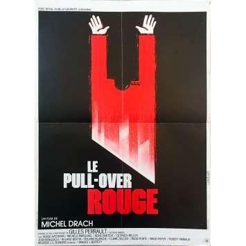 LE PULL-OVER ROUGE Affiche de film - 40x60 cm. - 1979 - Serge Avedikian, Michel Drach