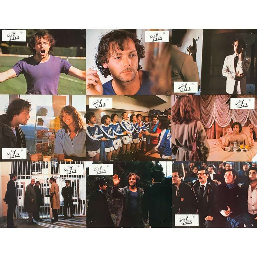 COUP DE TETE Photos de film x9 - 21x30 cm. - 1979 - Patrick Dewaere, Jean-Jacques Annaud
