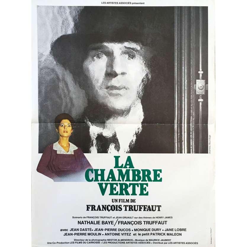 LA CHAMBRE VERTE Affiche de film - 40x60 cm. - 1978 - Nathalie Baye, François Truffaut