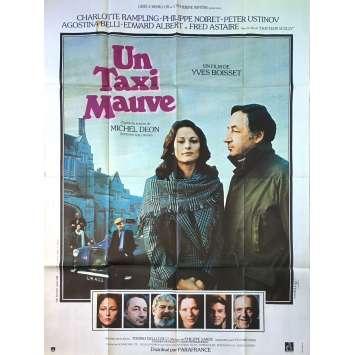 UN TAXI MAUVE Affiche de film - 120x160 cm. - 1977 - Philippe Noiret, Yves Boisset