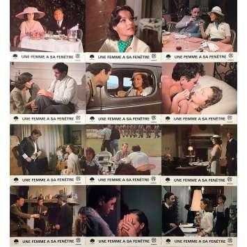 UNE FEMME A SA FENETRE Photos de film x12 - 21x30 cm. - 1976 - Romy Schneider, Pierre Granier-Deferre