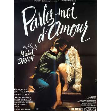PARLEZ MOI D'AMOUR Original Movie Poster - 23x32 in. - 1975 - Michel Drach, Louis Julien