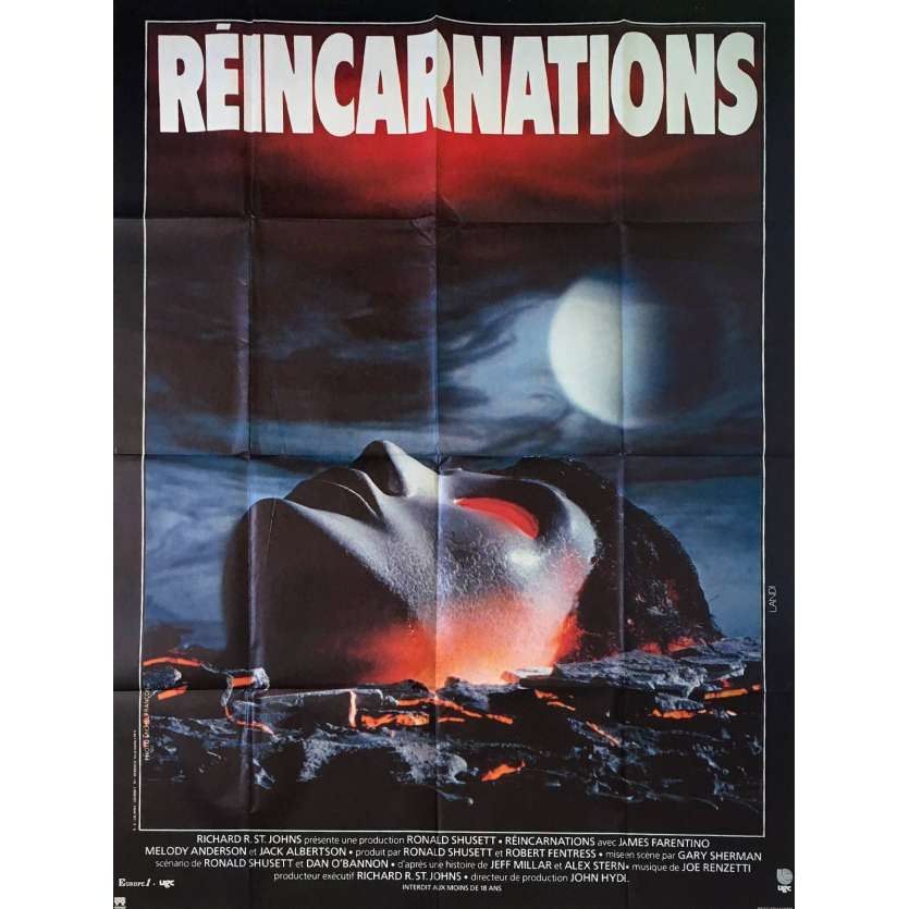 REINCARNATIONS Affiche de film 120x160 - 1981 - James Farentino, Gary Sherman
