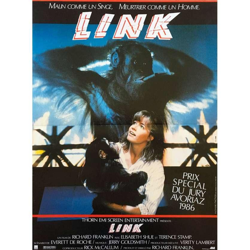 LINK Affiche de film 40x60 - 1983 - Terence Stamp, Richard Franklin