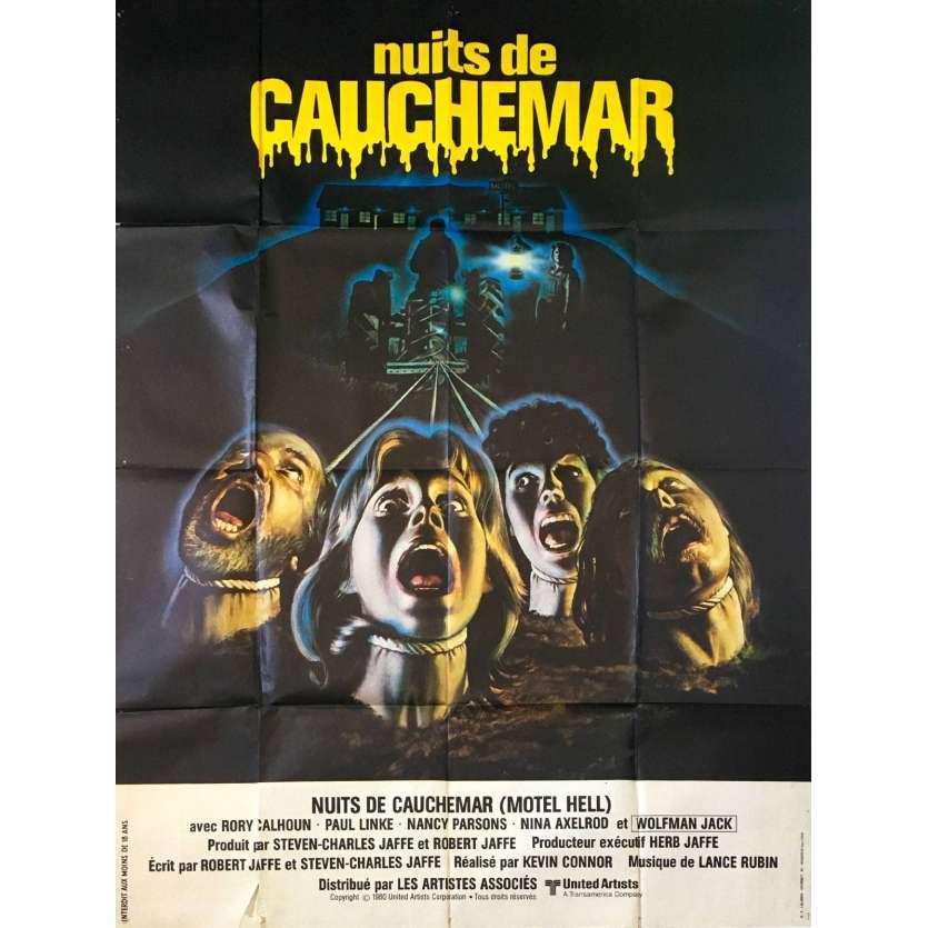 NUITS DE CAUCHEMAR Affiche de film 120x160 - 1980 - Rory Calhoun, Kevin Connor