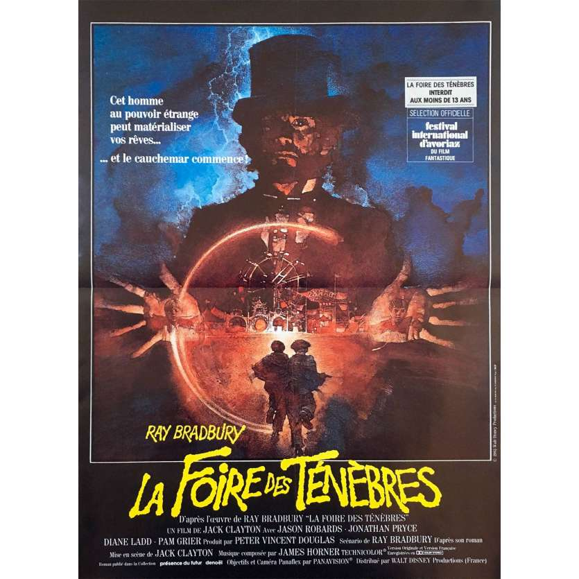 SOMETHING WICKED THIS WAY COMES French Movie Poster '83 15x23