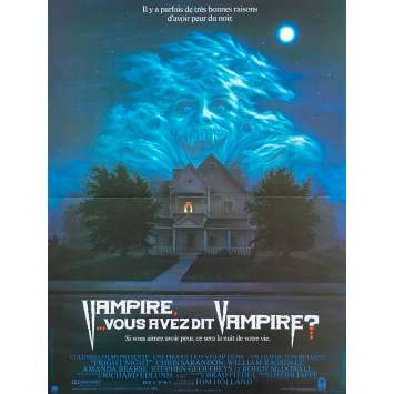 VAMPIRE VOUS AVEZ DIT VAMPIRE Affiche de film 40x60 cm - 1985 - Chris Sarandon, Tom Holland