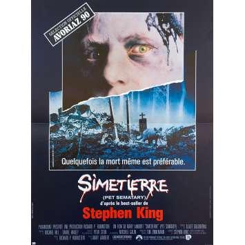 SIMETIERRE Affiche de film - 40x60 cm. - 1989 - Dale Midkiff, Mary Lambert