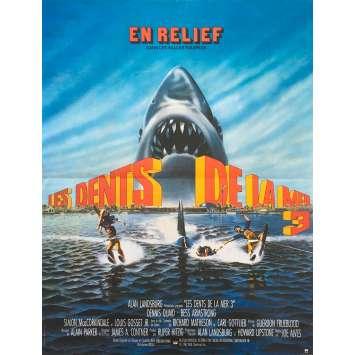 LES DENTS DE LA MER 3 Affiche de film - 40x60 cm. - 1983 - Dennis Quaid, Joe Alves