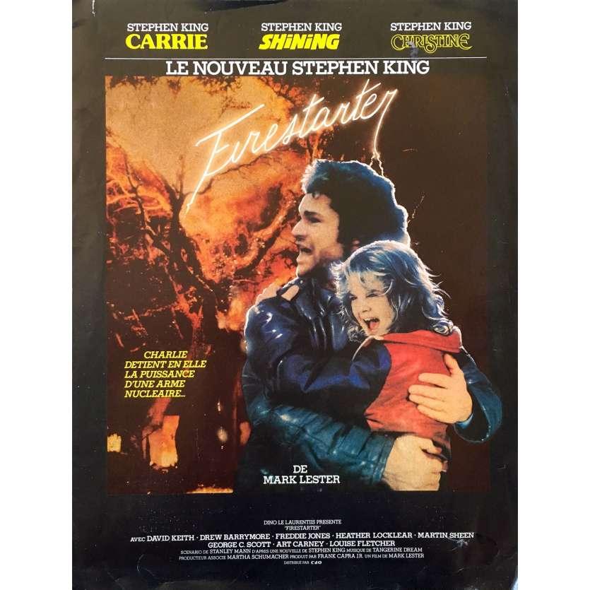 CHARLIE Synopsis 2p - 21x30 cm. - 1984 - Drew Barrymore, Mark L. Lester