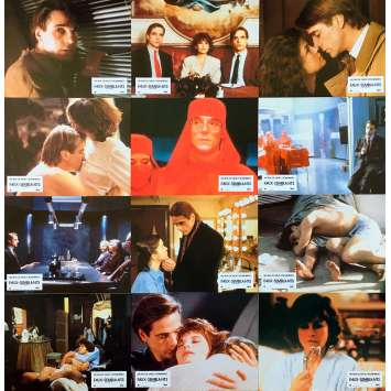 DEAD RINGERS Original Lobby Cards x12 - 9x12 in. - 1988 - David Cronenberg, Jeremy Irons