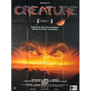CREATURE Original Movie Poster - 47x63 in. - 1985 - William Malone, Stan Ivar