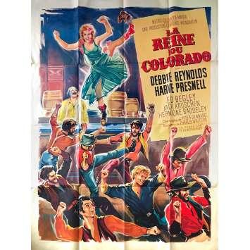 LA REINE DU COLORADO Affiche de film - 120x160 cm. - 1964 - Debbie Reynolds, Charles Walters