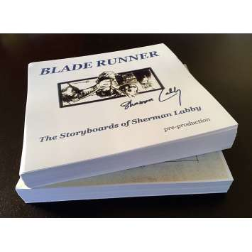BLADE RUNNER Storyboards - Rare High Quality copy of the entire set ! with COA
