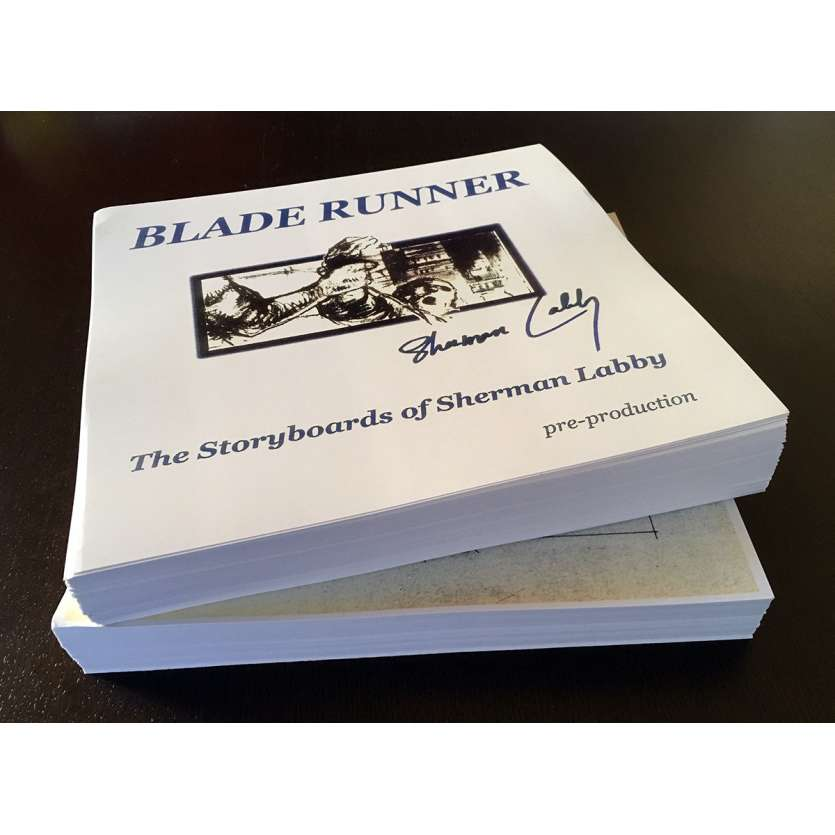 BLADE RUNNER Storyboard inédit - très rare exemplaire ! Avec COA et provenance